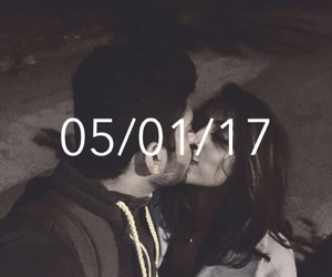distance, kissing, and long image