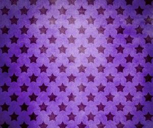 purple, stars, and pattern image