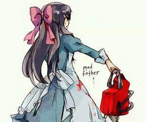 mad father and aya image