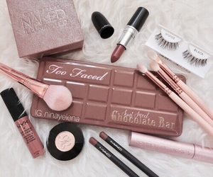lipstick, NYX, and mac image