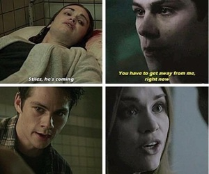 stydia, otp, and teen wolf image