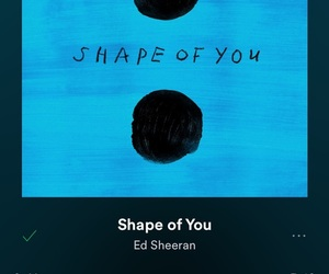 ed sheeran and shape of you image