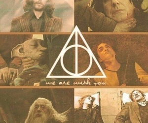 harry potter, dobby, and dumbledore image