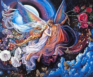 fantasy, art, and angel image