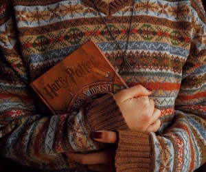 autumn, harry potter, and cute image