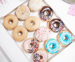 dessert, sprinkles, and donuts image