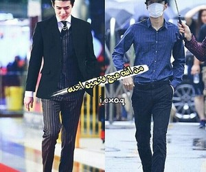 sehun, exo l, and اكسو image