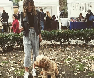 eleanor calder, dog, and outfit image