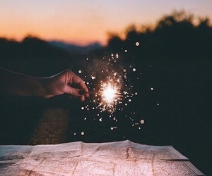 adventure, cool, and firework image