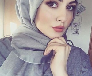 hijab, girl, and بُنَاتّ image