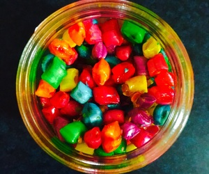 candy, food, and colour image