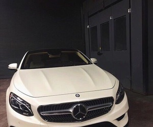 luxury, mercedes, and white image