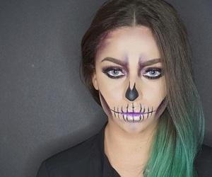 art, fashion, and makeup image