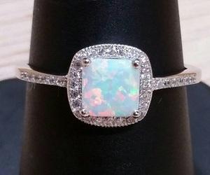 diamonds, wedding ring, and engagement ring image