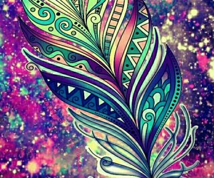 wallpaper, color, and feather image
