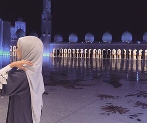 islam, hijab, and mosque image