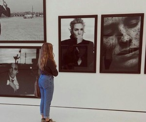 art, museum, and mysterious image