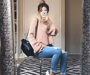 autumn, outfit, and outfits image