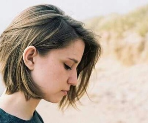 hair, girl, and indie image