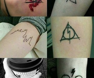 tattoo, harry potter, and harrypotter image