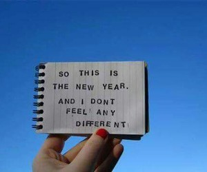 new year, quotes, and text image
