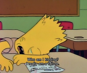 the simpsons, simpsons, and failure image