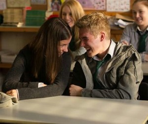 wolfblood, maddy smith, and rhydian morris image