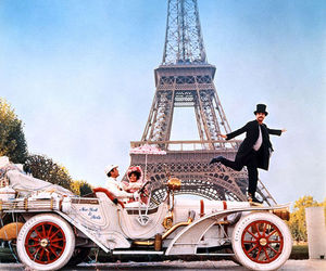 old hollywood, paris, and the great race image
