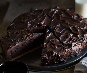 chocolate, cake, and chocolate cake image