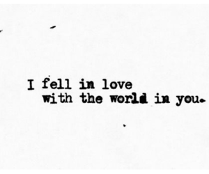 love, quote, and world image