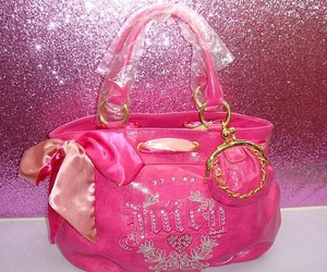 pink, bag, and fashion image