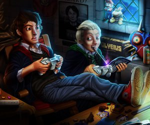 harry potter and gamers image