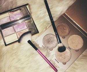 highlighter, makeup, and sleek image