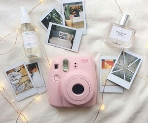 colores, instax, and pink image