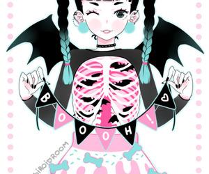 anime, pastel, and kawaii image