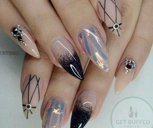 nails, art, and style image