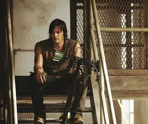 twd, daryl dixon, and norman reedus image