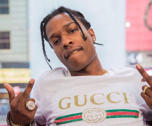 gucci and asap rocky image