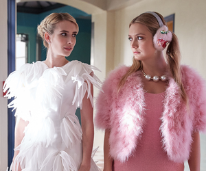 emma roberts, scream queens, and chanel oberlin image