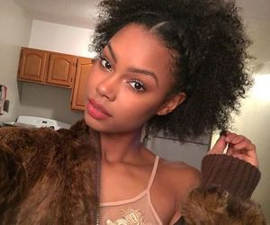 hair, natural hair, and taelorthein image