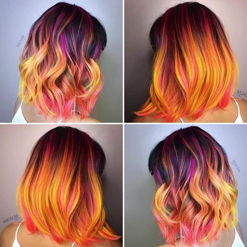 colorful, colours, and curly image