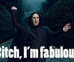 fabulous and snape image
