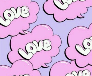 wallpaper, love, and pink image