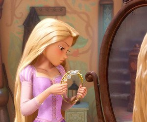 disney, tangled, and book image