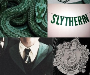 aesthetic, draco malfoy, and harry potter image