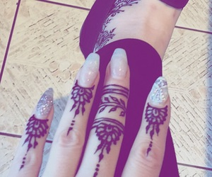 foot, girl, and hand image