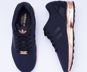 adidas, gold, and sneaker image