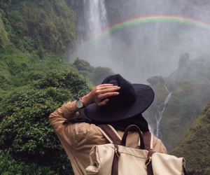 nature, travel, and girl image