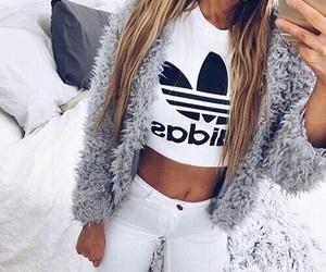 adidas, blondie, and girl image