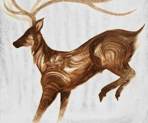 deer and art image